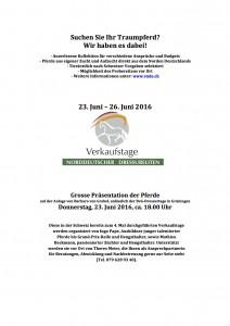 InseratBvGAusschreibungVerkaufspferde2016CHMeister